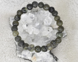 103.05 CT Jade Green Natural Genuine Bracelet K20