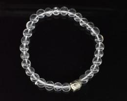 80.35 CT Crystal Quartz Natural Gemstone Bracelet K23