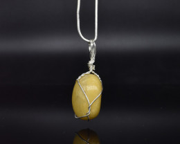 48.35 CT Natural Gemstone Wire Wrapped Pendant K24