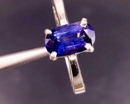 3 Carats Ceylon Sapphire Ring