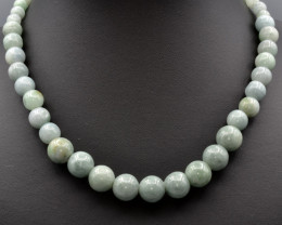 Natural Jadeite Beads Necklace