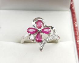 Glass Feld Ruby Ring.