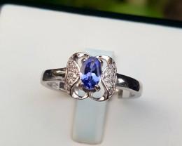 Natural Tanzanite Ring.