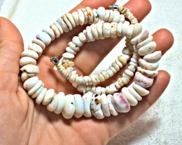 373.0 Carat Weight Colorful Authentic Hawaiian Puka Shell Lei / Necklace 18