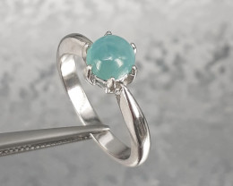 Grandidierite 925 Silver Ring by DANI Jewellery