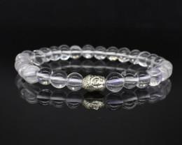 78.95 CT Crystal Quartz Natural Gemstone Bracelet K31