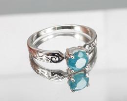 Grandidierite 925 Silver Ring by DANI Jewellery