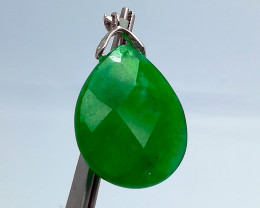 Natural Green Agate 43.00 Carats Pendant