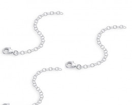 925 SS Necklace Extender Set of 3