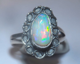 5.7sz Welo Solid Opal Ring