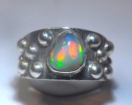 5.7sz Welo Solid Opal Ring