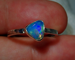 8.5ct Blazing Welo Solid Opal Ring