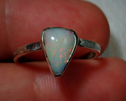 8ct Blazing Welo Solid Opal Ring