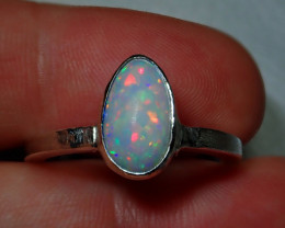 10ct Blazing Welo Solid Opal Ring