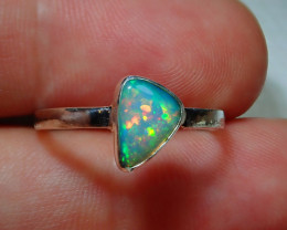 8.2ct Blazing Welo Solid Opal Ring