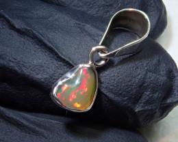 3ct Blazing Welo Solid Opal Pendant