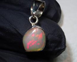 4.5ct Blazing Welo Solid Opal Pendant