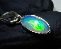 7.5ct Blazing Welo Solid Opal Pendant
