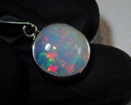 8ct Blazing Welo Solid Opal Pendant
