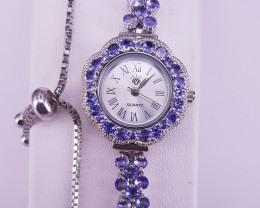 Wow A Beautiful Tanzanite Watch Bracelet