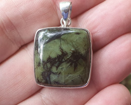 A Lovely Serpentine Pendant (JNRA-SE2008)