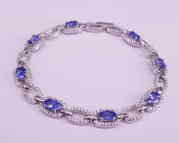 Beautiful Tanzanite Bracelet.