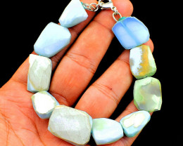 Peruvian Opal Faceted Bracelet