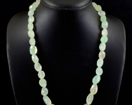 Chaceldony Faceted Beads Necklace