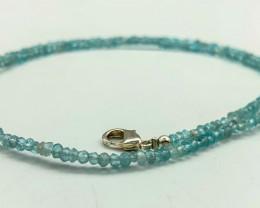 30 Crt Natural Aquamarine Necklace