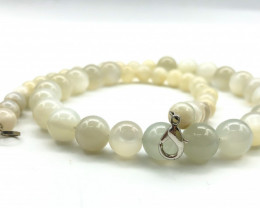 240 Crt Natural Moonstone Necklace