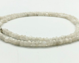46 Crt Natural Moonstone Necklace