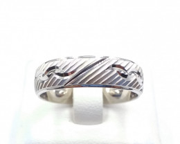 PLAN RING WITH 925 SILVER E 20
