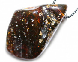 87 Cts  Baltic Amber Pendant   Necklace, direct from Poland AM 1867