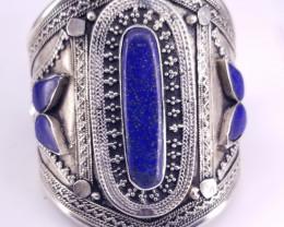 Natural Lipas Lazuli Bracelet.