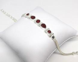 Handmade Ruby Bracelet 3.78 TCW