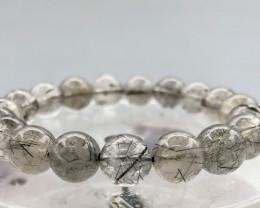 142.5 Crt Natural  Rutile Quartz Bracelet