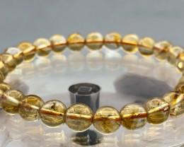74.9 Crt Natural Citrine Bracelet