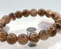 115 Crt Natural Rutile Quartz Bracelet