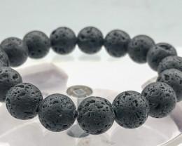 171.5 Crt Natural Lava Bracelet