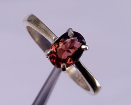 Natural tourmaline Ring.