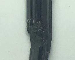 Natural Black Tourmaline 1 Piece925 Silver Pendant