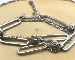 35.40 Crt 925 Silver Bracelet