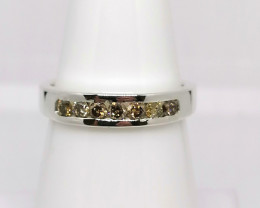 Handmade Diamond Ring 0.37 TCW