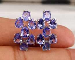 Natural Tanzanite Earring.