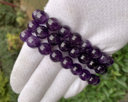 Beautiful purple color amethyst  bracelet