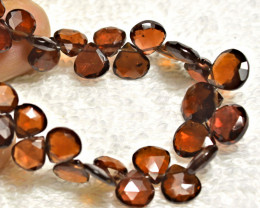 94.5 Carat Faceted African Fancy Garnet Bracelet - Gorgeous