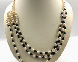 225 Crt Fresh Water Pearl Necklace