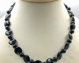 203.5 Crt Natural Onyx Necklace