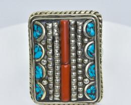 140 Crt Turquiose Ring