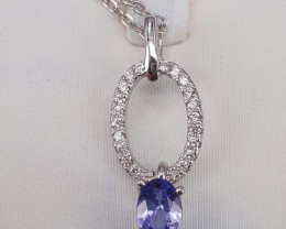 Natural Beautiful Tanzanite pendant